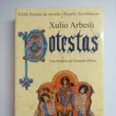 Livros em segunda mão: POTESTAS/XULIO ARBESU/PREMIU XOSEFA XOVELLANOS-EDICION EN ASTURIANO.. Lote 221118973