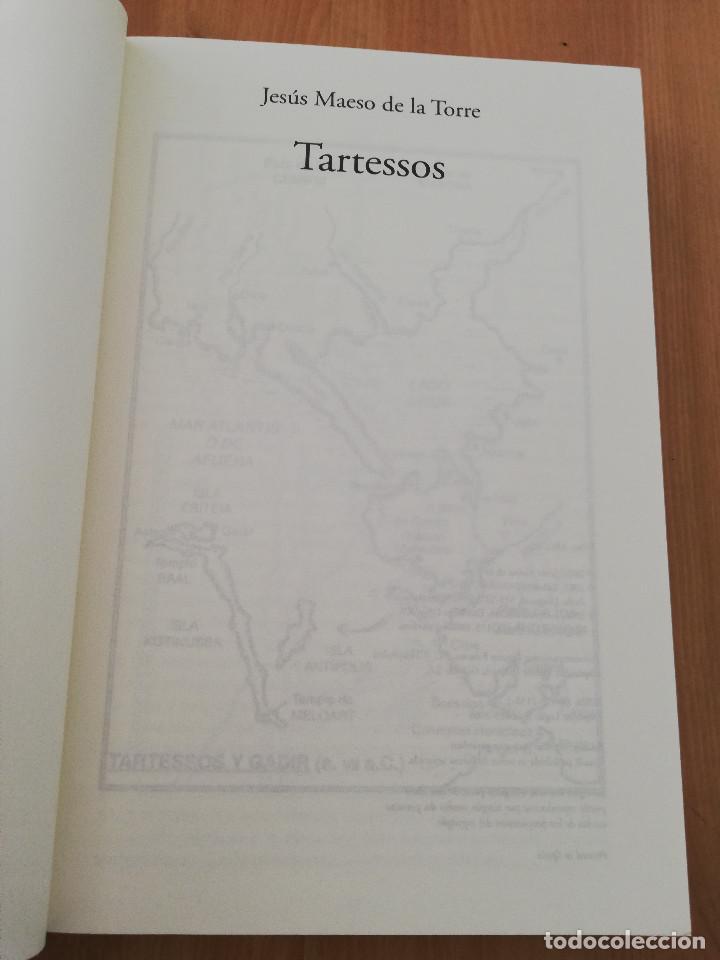 Libros de segunda mano: TARTESSOS (JESÚS MAESO DE LA TORRE) - Foto 2 - 221265308