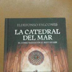 Libros de segunda mano: LA CATEDRAL DEL MAR DE ILDEFONSO FALCONES EL COMIC BASADO EN EL BEST SELLER. Lote 221590392