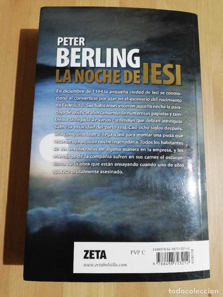 Libros de segunda mano: LA NOCHE DE IESI (PETER BERLING) - Foto 4 - 223409742