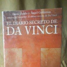 Libros de segunda mano: EL DIARIO SECRETO DE DA VINCI / DAVID ZURDO Y ÁNGEL GUTIÉRREZ / PEDIDO MÍNIMO 5 EUROS. Lote 224268238