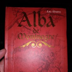 Libros de segunda mano: ALBA DE MONTNEGRE LUZ ÁLVAREZ EDITORIAL BRUÑO. Lote 224664186