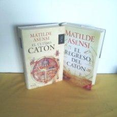 Libros de segunda mano: MATILDE ASENSI - EL ULTIMO CATON Y EL REGRESO - PLANETA. Lote 224558961
