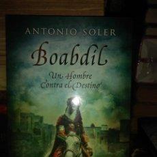 Livros em segunda mão: ANTONIO SOLER.BOABDIL.ESPASA. Lote 225633788