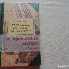 Livros em segunda mão: EL TENIENTE DE NAVÍO HORNBLOWER . SERIE HORATIO HORNBLOWER (VOL. 2) C. S. FORESTER (ED. EDHASA). Lote 229305960