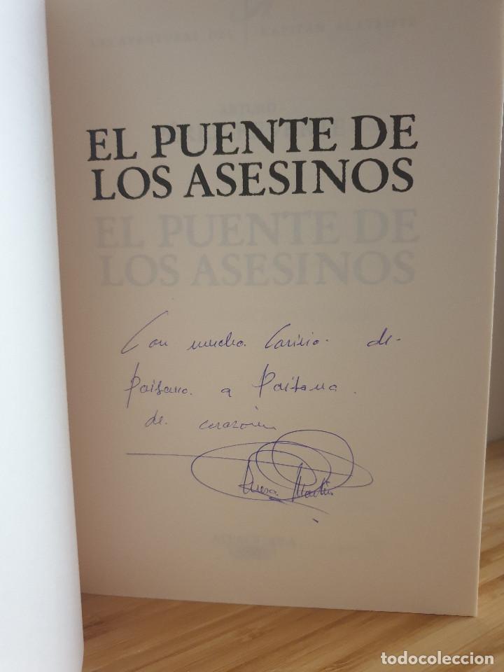 Libros de segunda mano: Las Aventuras Del Capitán Alatriste / El Puente de los Asesinos - Arturo Pérez-Reverte - Foto 4 - 232753868