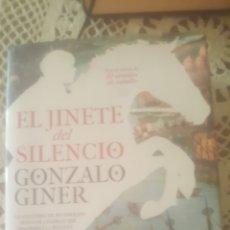 Libros de segunda mano: EL JINERE DEL SILENCIO DE GONZALO ĢINER. Lote 235771170