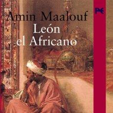 Libros de segunda mano: LEÓN, EL AFRICANO. AMIN MAALOUF. ALIANZA LITERARIA.. Lote 235846070