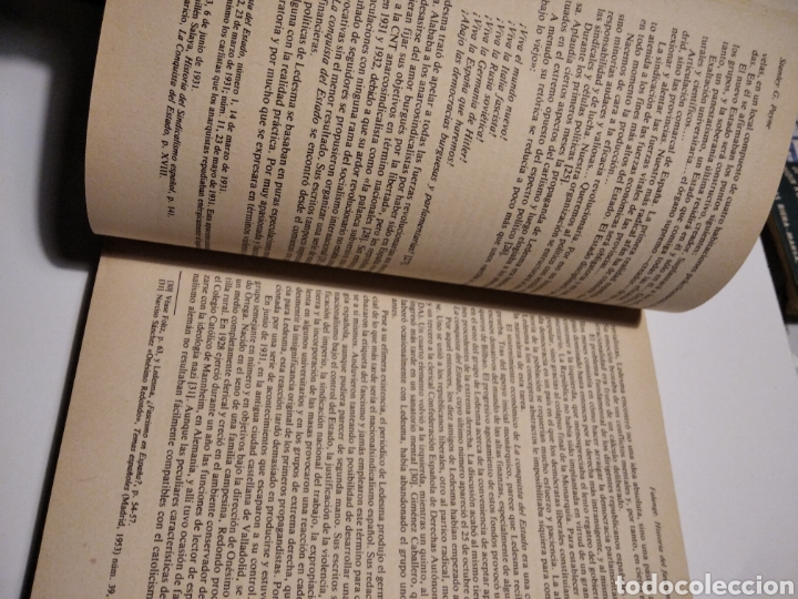 Libros de segunda mano: Falange, historia del fascismo español, Stanley G. Payne - Foto 3 - 236832680