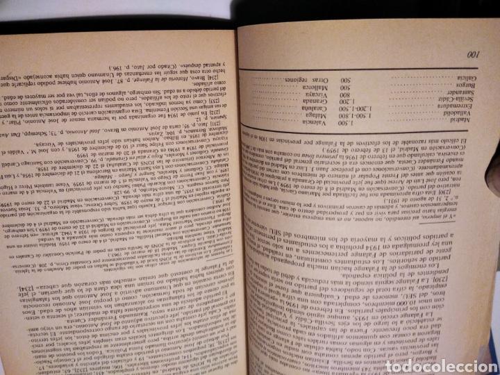 Libros de segunda mano: Falange, historia del fascismo español, Stanley G. Payne - Foto 4 - 236832680