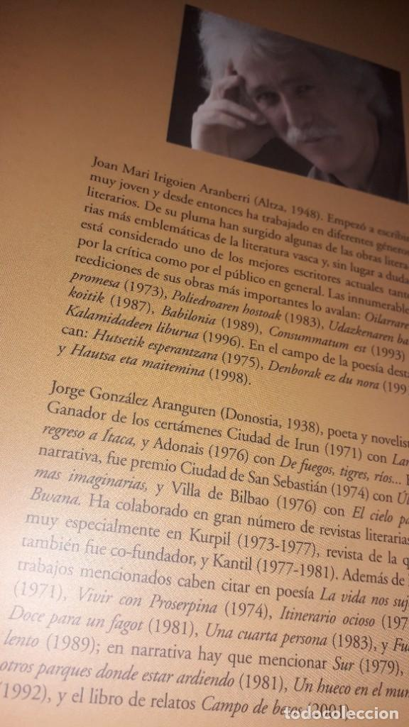 Libros de segunda mano: UNA TIERRA MÁS ALLÁ, de Joan Mari Irigoien - Foto 5 - 236849175