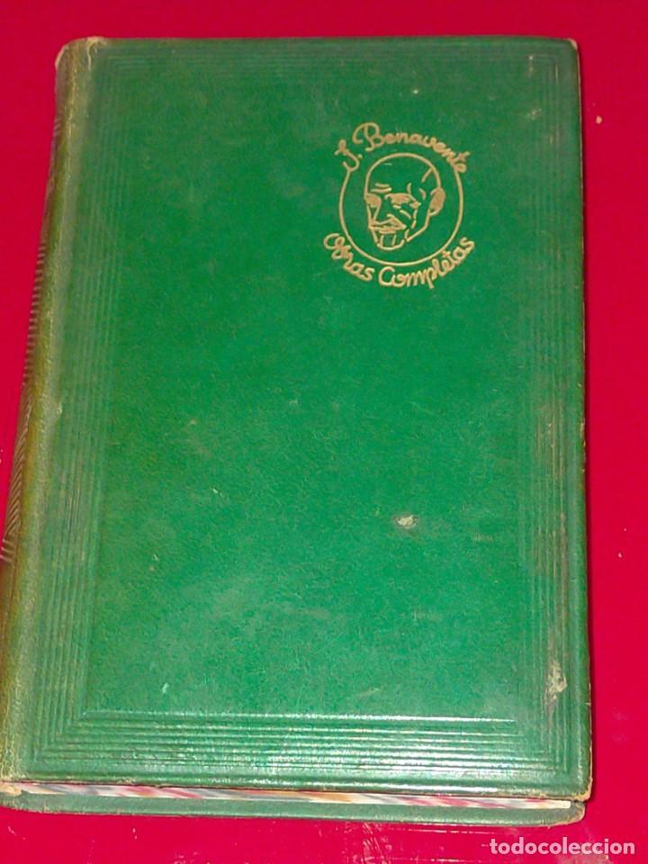 Libros de segunda mano: OBRAS COMPLETAS --- JACINTO BENAVENTE, TOMO X --- AGUILAR 1956 --- - Foto 2 - 237003310