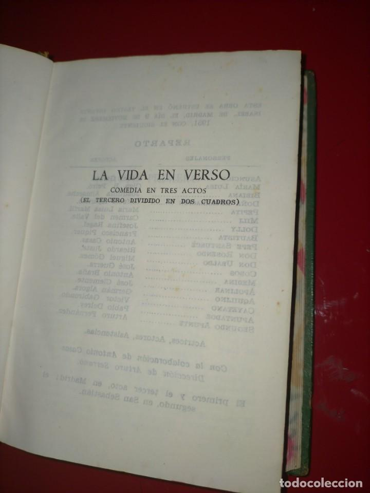 Libros de segunda mano: OBRAS COMPLETAS --- JACINTO BENAVENTE, TOMO X --- AGUILAR 1956 --- - Foto 7 - 237003310