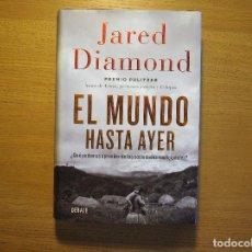 Libros de segunda mano: EL MUNDO HASTA AYER JARED DIAMOND DEBATE. Lote 237805695