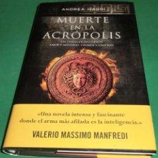 Libros de segunda mano: MUERTE EN LA ACROPOLIS - ANDREA MAGGI (COMO NUEVO). Lote 240425865