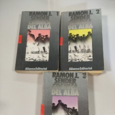 Libros de segunda mano: CRÓNICA DEL ALBA, RAMÓN J.SENDER. Lote 240991475
