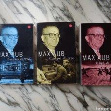 Libros de segunda mano: CAMPO CERRADO, CAMPO ABIERTO Y CAMPO DE SANGRE - MAX AUB - 2003. Lote 241641455