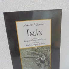Livres d'occasion: IMAN. RAMON J. SENDER. PROLOGO BORJA RODRIGUEZ GUTIERREZ. EDITORIAL STOCKCERO 2014. Lote 242849255