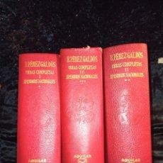 Libros de segunda mano: BENITO PÉREZ GALDÓS EPISODIOS NACIONALES. Lote 243258630
