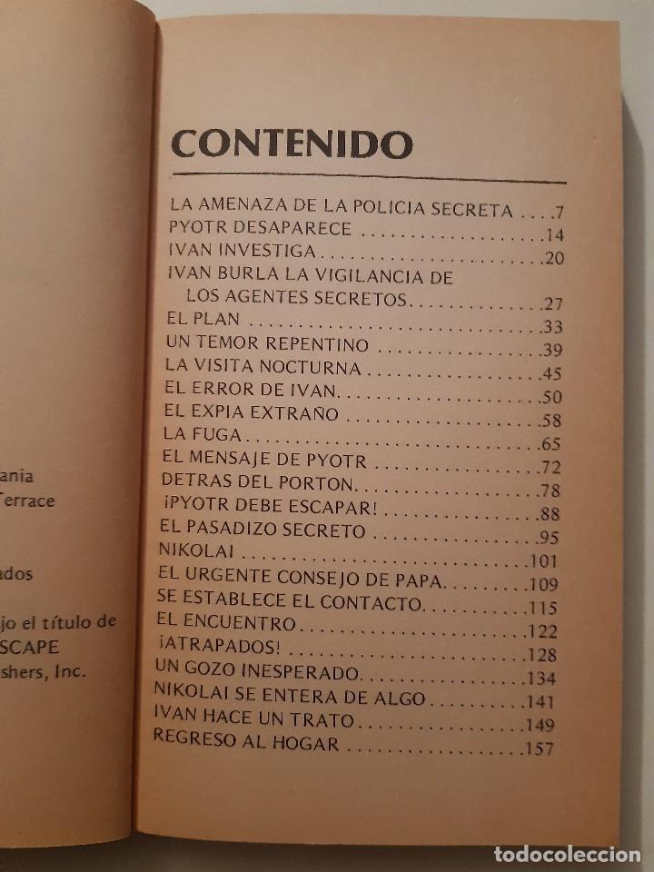 Libros de segunda mano: IVAN Y LA FUGA AUDAZ MYRNA GRANT Betania Puerto Rico 1978 - Foto 11 - 243485390
