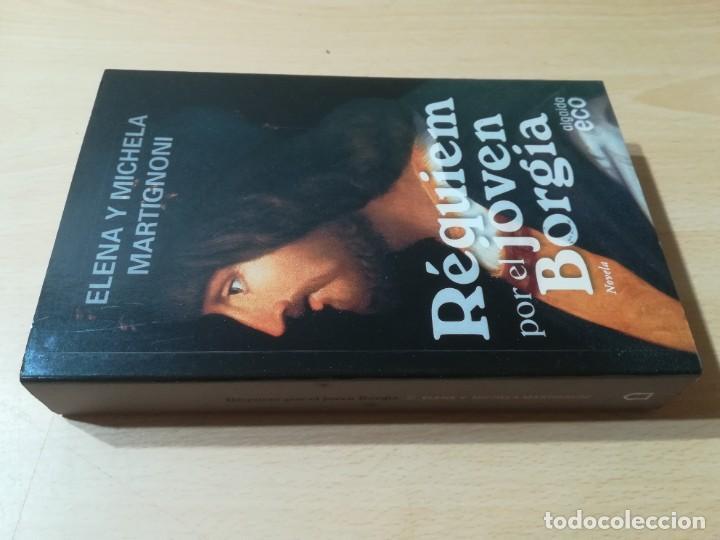 REQUIEM POR EL JOVEN BORGIA / ELENA Y MICHELA MARTIGNONI / ALGAIDA ECO / ESQ126 (Libros de Segunda Mano (posteriores a 1936) - Literatura - Narrativa - Novela Histórica)