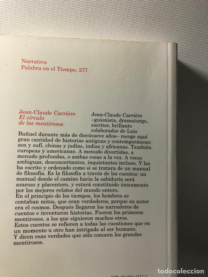 Libros de segunda mano: EL CIRCULO DE LOS MENTIROSOS ··· CUENTOS FILOSOFICOS DEL MUNDO ENTERO ··· JEAN-CLAUDE CARRIERE ·· - Foto 8 - 244824680