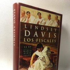 Libros de segunda mano: LOS FISCALES ··· LINDSEY DAVIS ··· MARCO DIDIO FALCO ··· ··· ·· EDHASA. Lote 244826445