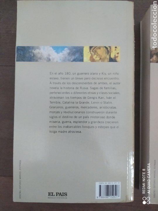 Libros de segunda mano: RUSOS. DOS VOLÚMENES. EDWARD RUTHERFURD. COLECCIÓN EL PAIS. - Foto 2 - 245474310