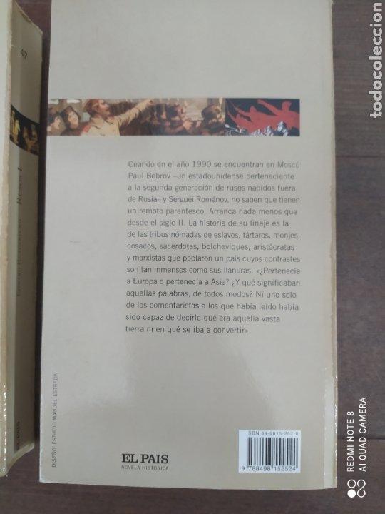 Libros de segunda mano: RUSOS. DOS VOLÚMENES. EDWARD RUTHERFURD. COLECCIÓN EL PAIS. - Foto 3 - 245474310