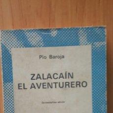 Libros de segunda mano: ZALACAÍN EL AVENTURERO - PIO BAROJA (1943) - ESPASA-CALPÉ/COLECCIÓN AUSTRAL. Lote 245483005