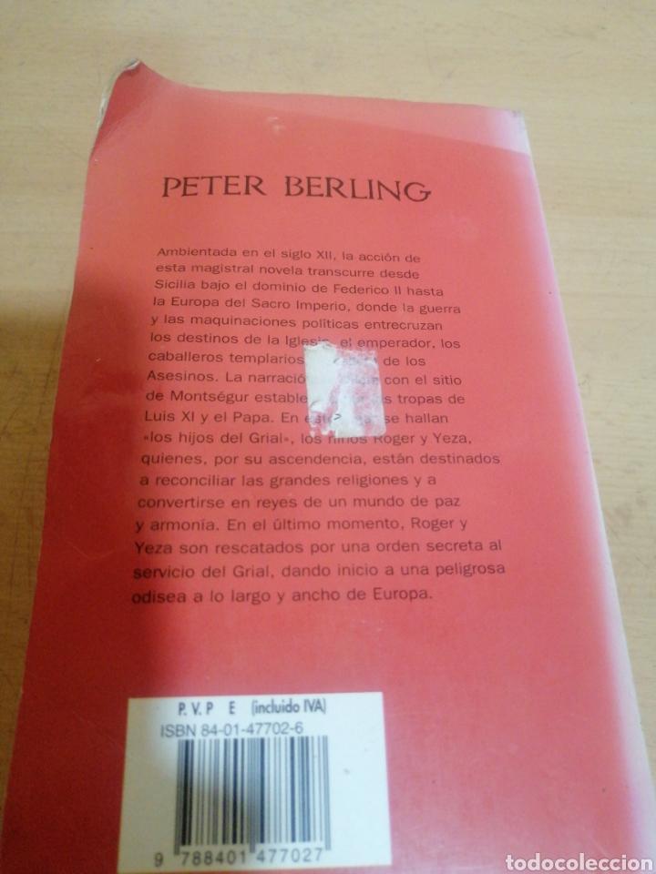 Libros de segunda mano: LOS HIJOS DE GRIAL PETER BERLING - Foto 3 - 245488550