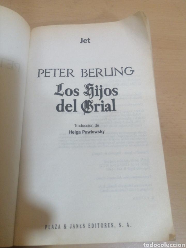 Libros de segunda mano: LOS HIJOS DE GRIAL PETER BERLING - Foto 4 - 245488550
