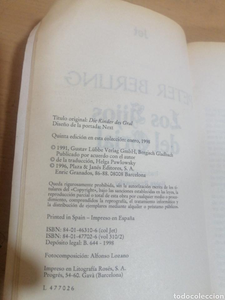 Libros de segunda mano: LOS HIJOS DE GRIAL PETER BERLING - Foto 5 - 245488550