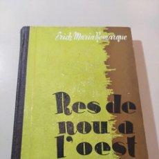 Libros de segunda mano: RES DE NOU A L' OEST. Lote 245640555