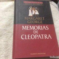 Libros de segunda mano: MARGARET GEORGE MEMORIAS DE CLEOPATRA. Lote 246012925