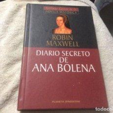 Libros de segunda mano: DIARIO SECRETO DE ANA BOLENA - ROBIN MAXWELL. Lote 246014480