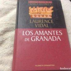 Libros de segunda mano: LOS AMANTES DE GRANADA.- LAURENCE VIDAL.- PLANETA DE AGOSTINI.- 2000.- TAPA DURA. Lote 246016595