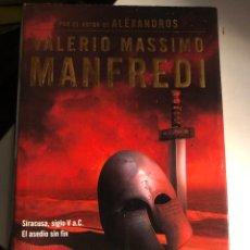 Libros de segunda mano: EL TIRANO DE VALERIO MANFREDI. Lote 247635090