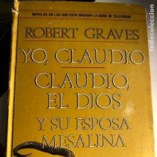 Libros de segunda mano: YO, CLAUDIO DE ROBERT GRAVES. Lote 247640315