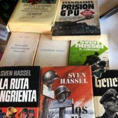 Libros de segunda mano: LOTE DE LIBROS DE SVEN HASSEL. Lote 247927560