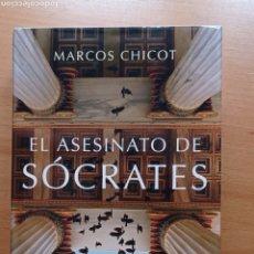 Livros em segunda mão: CHICOT EL ASESINATO DE SÓCRATES 2016 GRECIA MISTERIO HISTORIA ANTIGUA. Lote 252580110