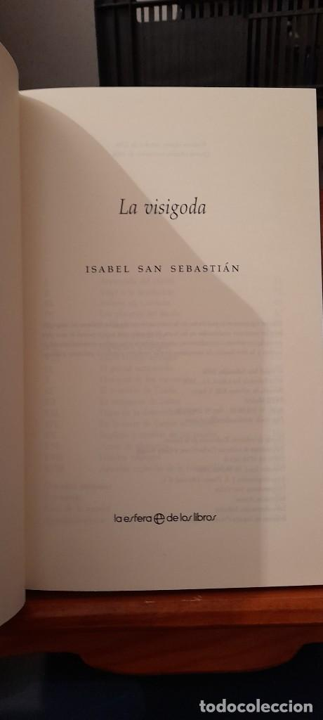 Libros de segunda mano: ISABEL SAN SEBASTIAN - Foto 9 - 254385210