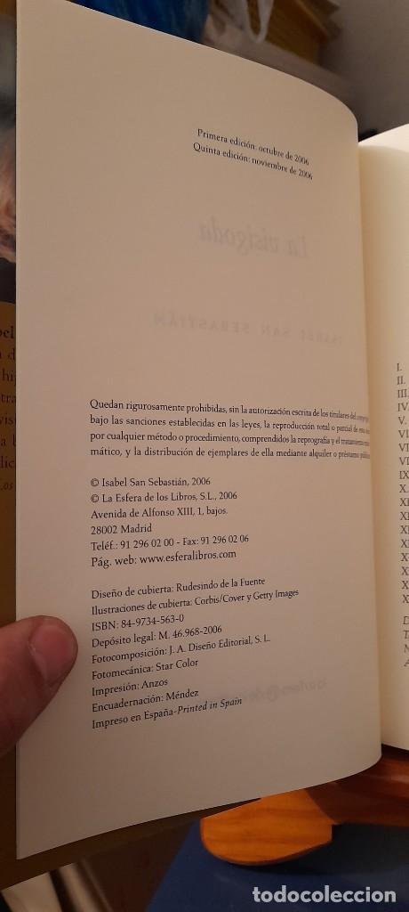 Libros de segunda mano: ISABEL SAN SEBASTIAN - Foto 10 - 254385210