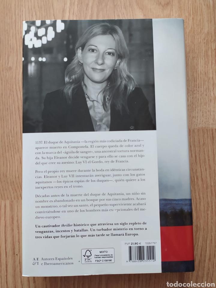 Libros de segunda mano: Libro Aquitania NUEVO SIN ESTRENAR. Leonor de aquitania. Eva g Sáenz de urturi premio planeta 2020 - Foto 2 - 254403310