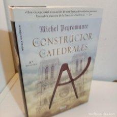 Libros de segunda mano: EL CONSTRUCTOR DE CATEDRALES, MICHEL PEYRAMAURE, NOVELA HISTORICA, STYRIA, 2006. Lote 255554760