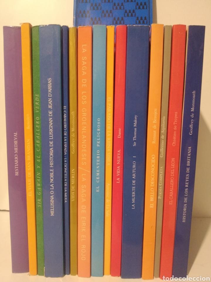 LOTE SELECCIÓN LITERATURAS MEDIEVALES. JACOBO SIRUELA. NÚM 1 A 14 + GUÍA. LUIS ALBERTO DE CUENCA. (Libros de Segunda Mano (posteriores a 1936) - Literatura - Narrativa - Novela Histórica)