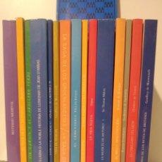 Libros de segunda mano: LOTE SELECCIÓN LITERATURAS MEDIEVALES. JACOBO SIRUELA. NÚM 1 A 14 + GUÍA. LUIS ALBERTO DE CUENCA.. Lote 255567435