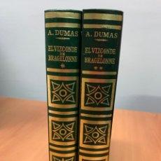 Libros de segunda mano: EL VIZCONDE DE BRAGELONNE. TOMOS I Y II. ALEJANDRO DUMAS. EDITORIAL PUEYO, S. L. MADRID 1970.. Lote 257806085