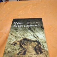 Libros de segunda mano: M-36 LIBRO JEAN M. AUEL CIRCULO DE LECTORES EL CLAN DEL OSO CAVERNARIO. Lote 258024585