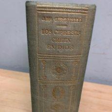 Libros de segunda mano: LOS CIPRESES CREEN EN DIOS. JOSÉ MARÍA GIRONELLA. EDITORIAL PLANETA 9A EDICIÓN. BARCELONA 1955.. Lote 258314790